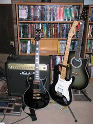 My Guitars by kylania