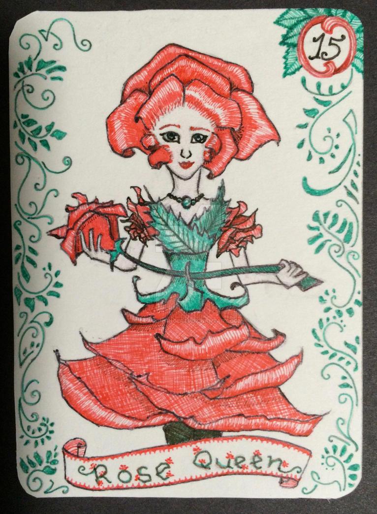 Rose Queen by dragonsinger99