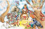 Christmas card 2012 by Heliocyan