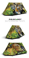 'Nightwatch' Tent for Fieldcandy by Heliocyan