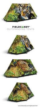 'Nightwatch' Tent for Fieldcandy by Heliocyan