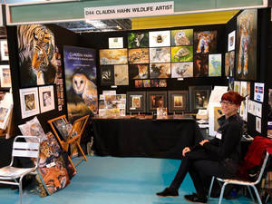 Busy doing art shows