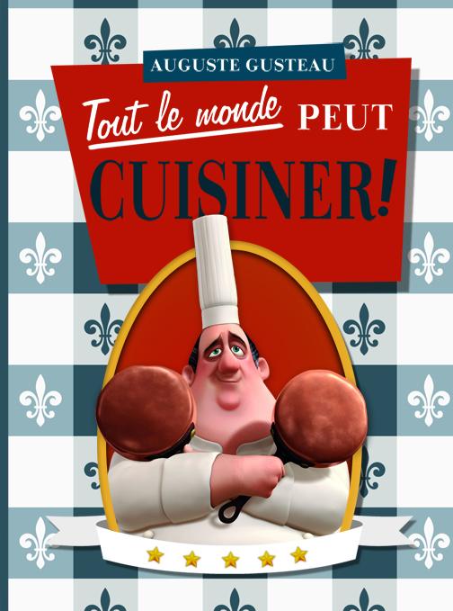 Auguste gusteau tout le monde peut cuisiner by ziruc on - Cuisiner la ratatouille ...