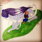 Taylor and Suicune by JustPunky