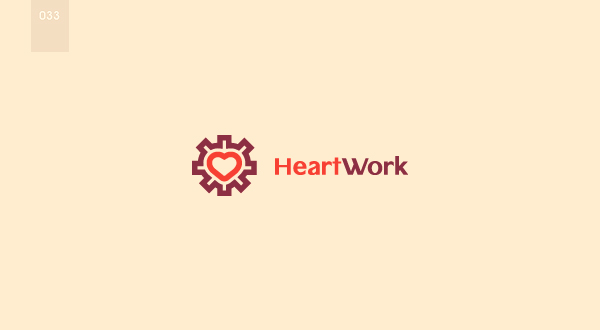 day 33 - heart work by 365logoproject
