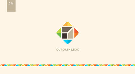day 46 - out of the box by 365logoproject