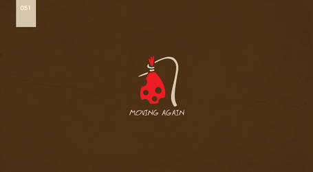 day 51 - moving again? by 365logoproject