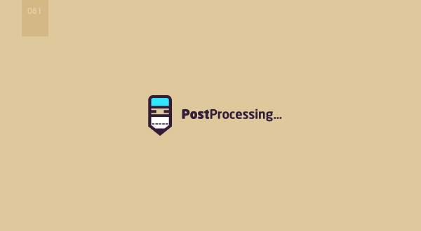 day 81 - post processing by 365logoproject