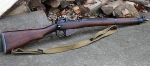 British No4 M1 Lee Enfield by PLutonius
