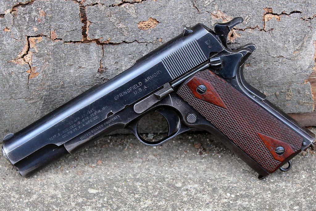 WW1 Springfield Armory USGI M1911 by PLutonius on DeviantArt M1911 Pistol Ww1