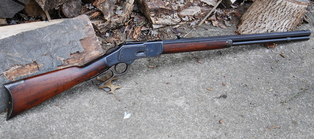 Winchester Model 1873 Rifle by PLutonius