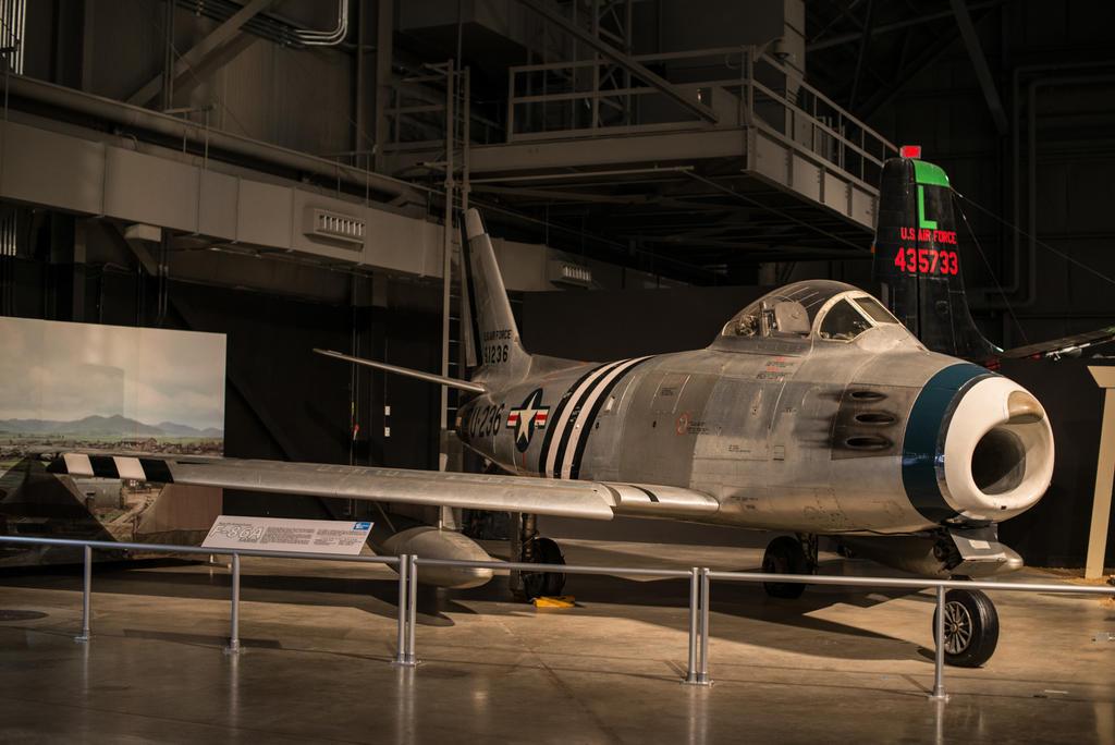 North American F-86 Sabre by PLutonius