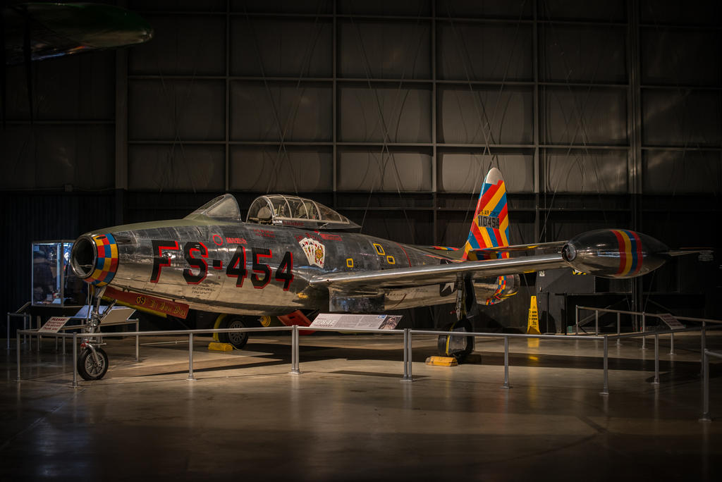 F-84E Thunderjet by PLutonius