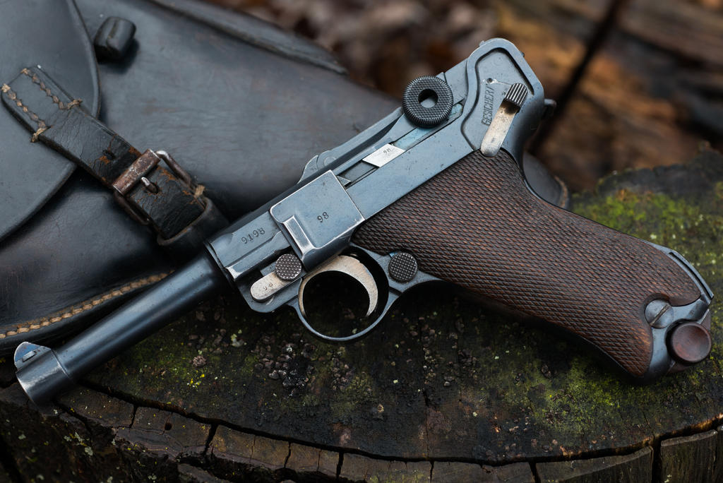 1920 Reichswehr Luger with Period Holster by PLutonius on