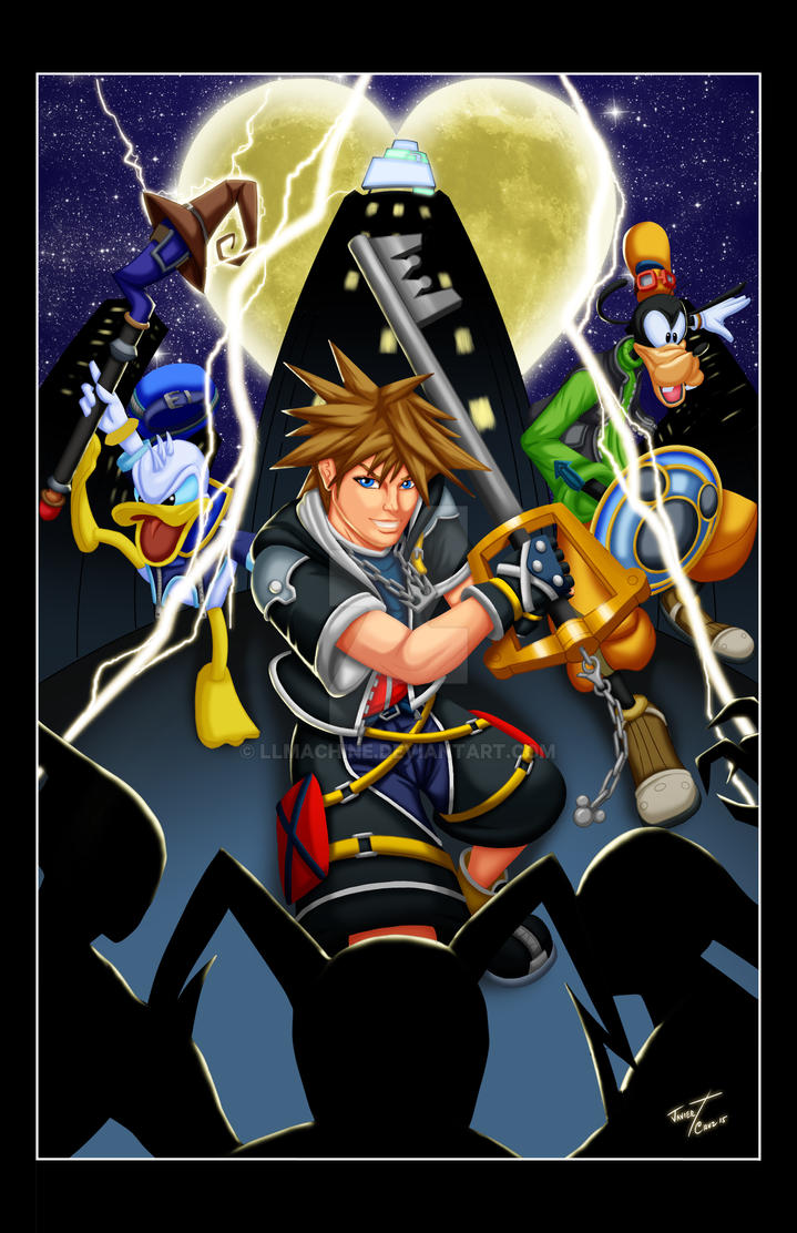 Kingdom Hearts Color by LLMachine