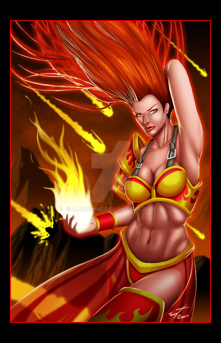Fire Caster Color by LLMachine
