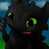Toothless avatar by pokefan444