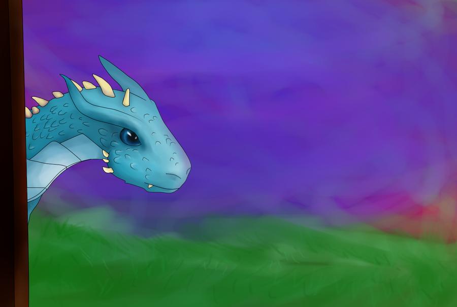 W-I-P: Saphira (and Eragon) by pokefan444