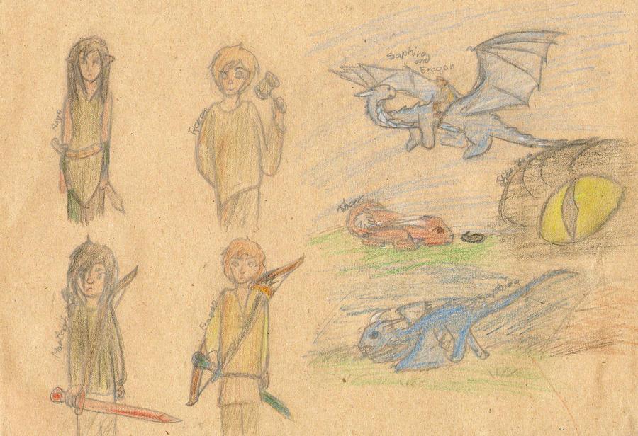 Inheritance drawings by pokefan444