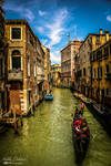 Gondola cruise in Venice