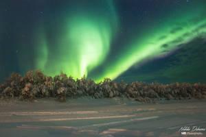 Northern lights by mydarkeyes