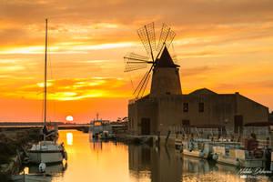 Sicily windmill