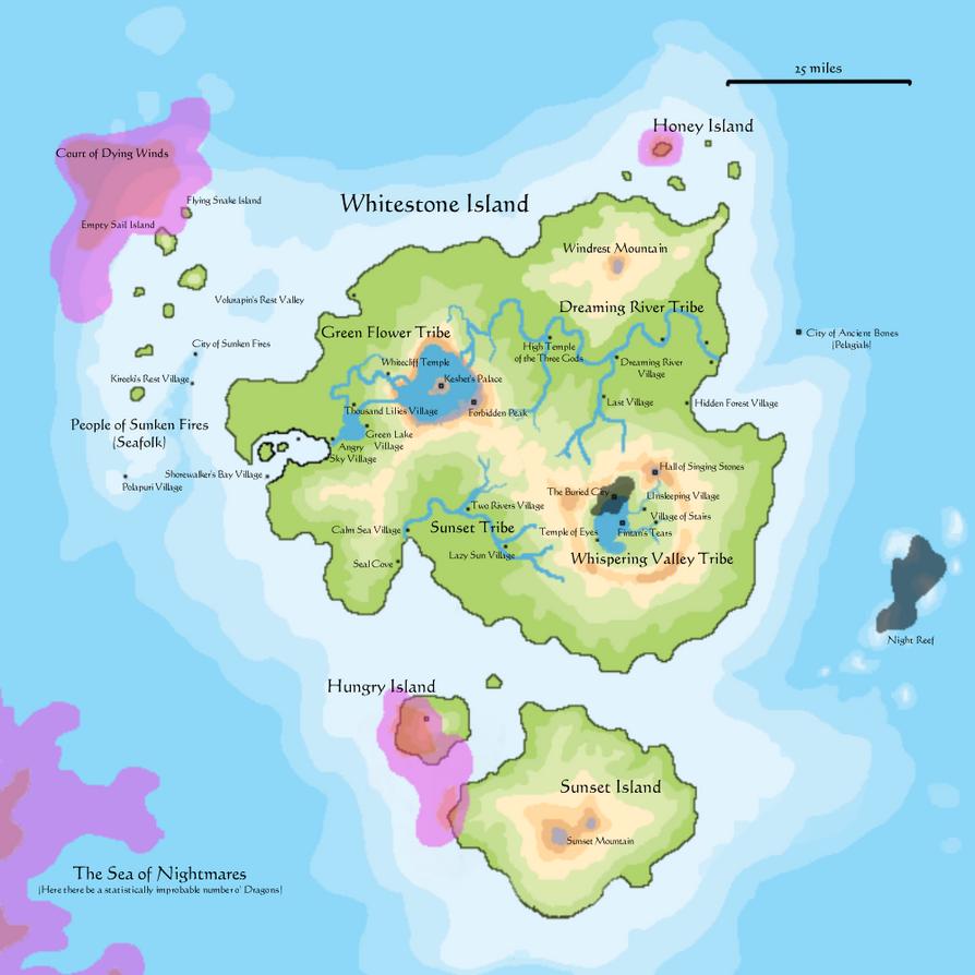 Whitestone Island Game Map by FlyingSpiderStudios on DeviantArt
