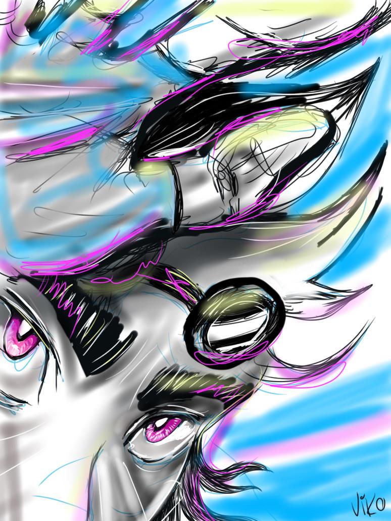 Kokoro - rogue sketch by VicVicious