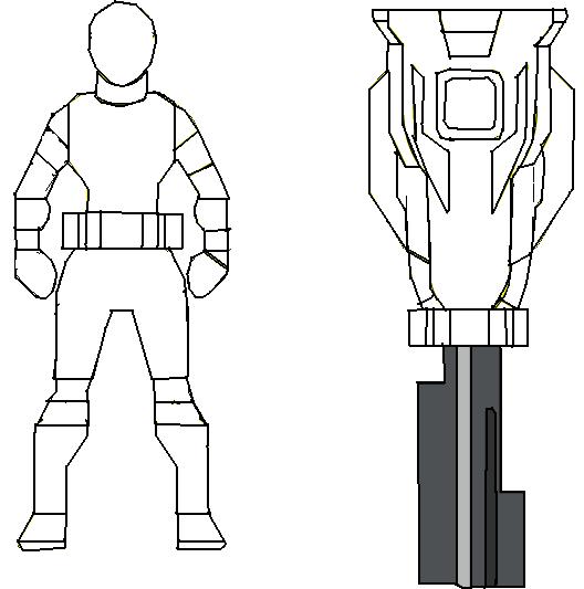 Mgw S Ranger Key Template By Morbyganawhoda