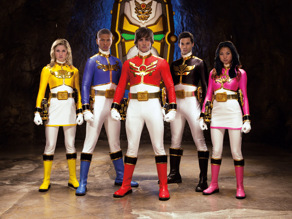 power rangers super samuri