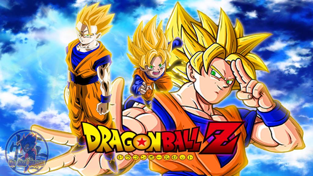 Dragon Ball Z Ssj Gohan,Goten And Goku by DapzeroTRD on ...