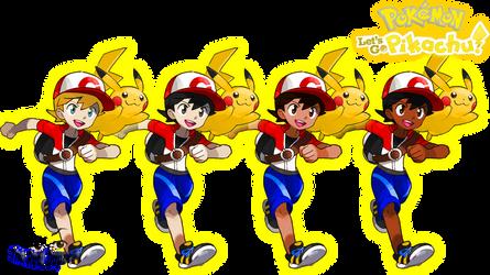 Pokemon Let's Go Pikachu - Male TR Customization by DapzeroTRD