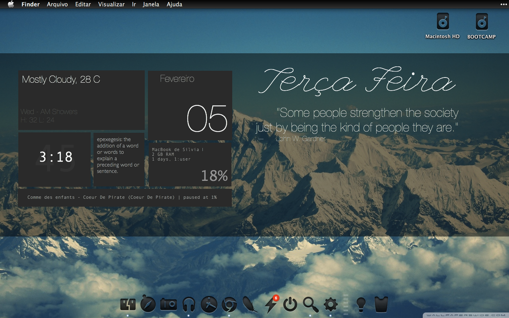 Mac theme (Snow Leopard) by silviafonseca