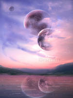 Moon Flows by Desertfire