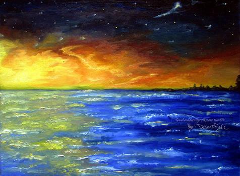 Into the sea
