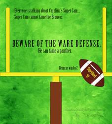 Beware the WARE Defense!