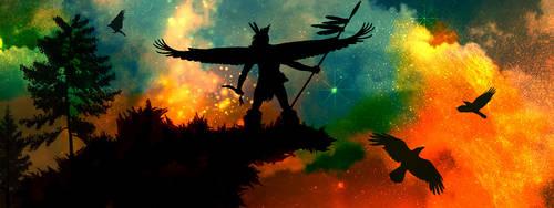 Spirit of the Crow by DARKNIHILISM