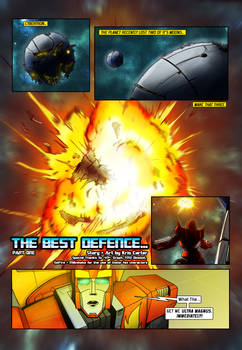 The Best Defence part 1 pg1