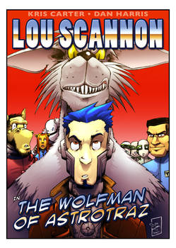 The Wolfman Of Astrotraz COVER