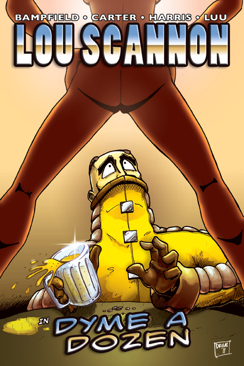 Lou Scannon Issue 2 - Cover 1