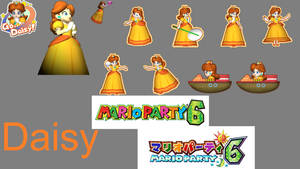 Mario Party 6 - Daisy