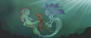 Mermaids and Otters