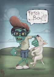 Zombie Boy by Rey-Paez