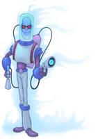 Mr. Freeze by Rey-Paez