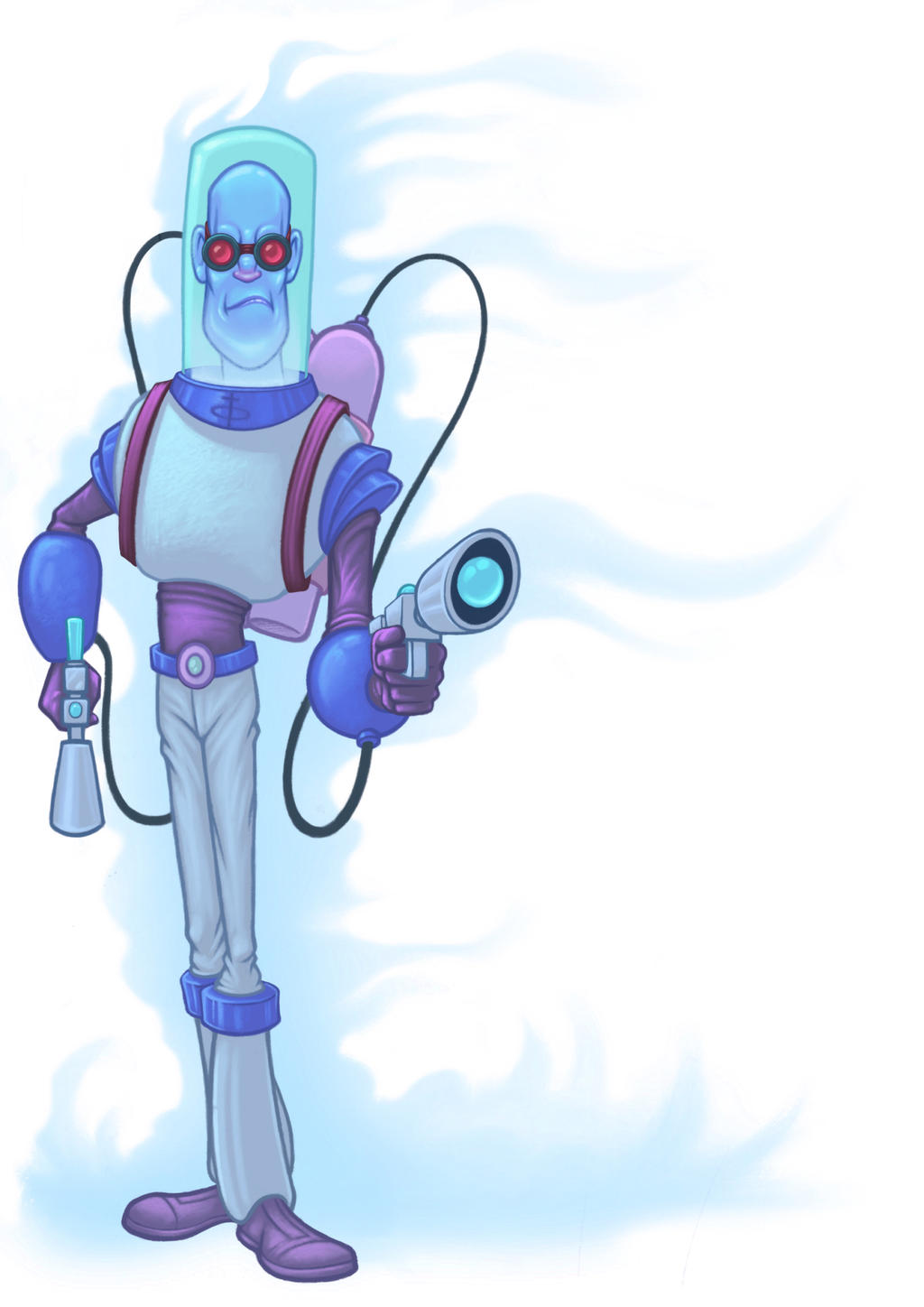 Mr. Freeze by Rey-Paez