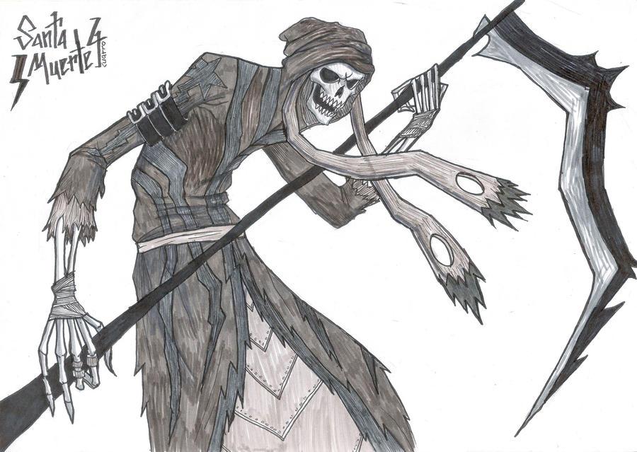 la santa muerte coloring pages - photo #32