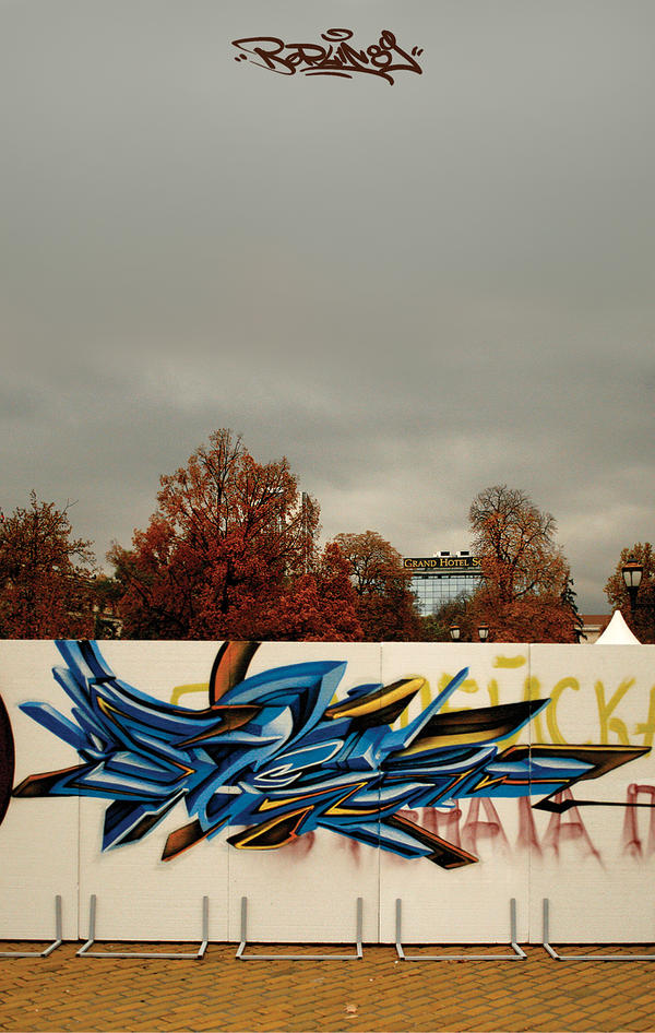 berlin wall 89' by stenDUC