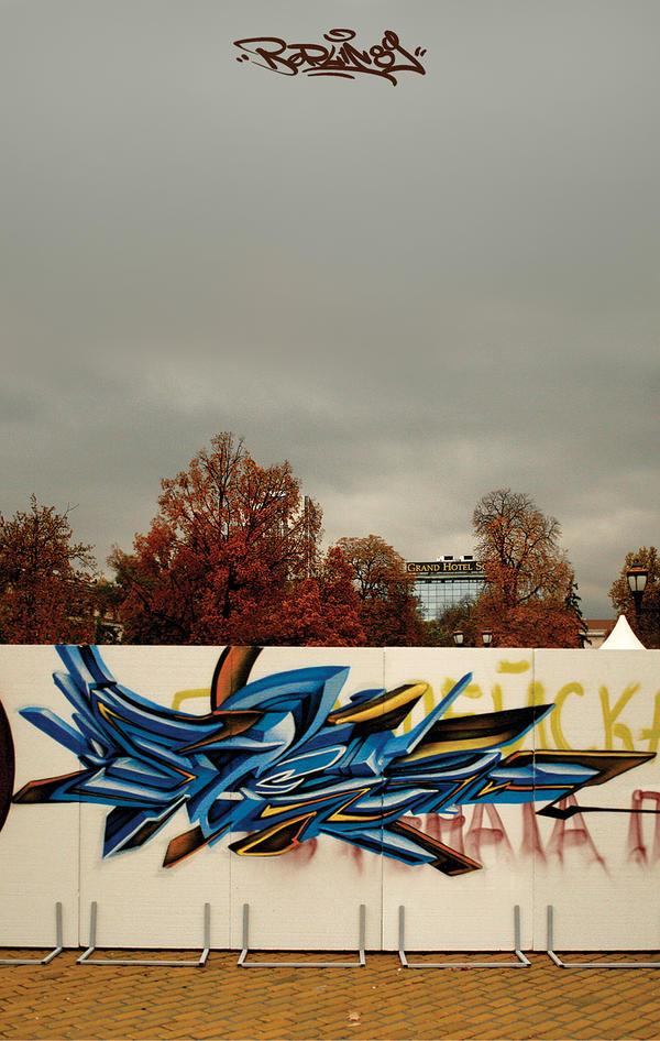 berlin wall 89' by stenDUC