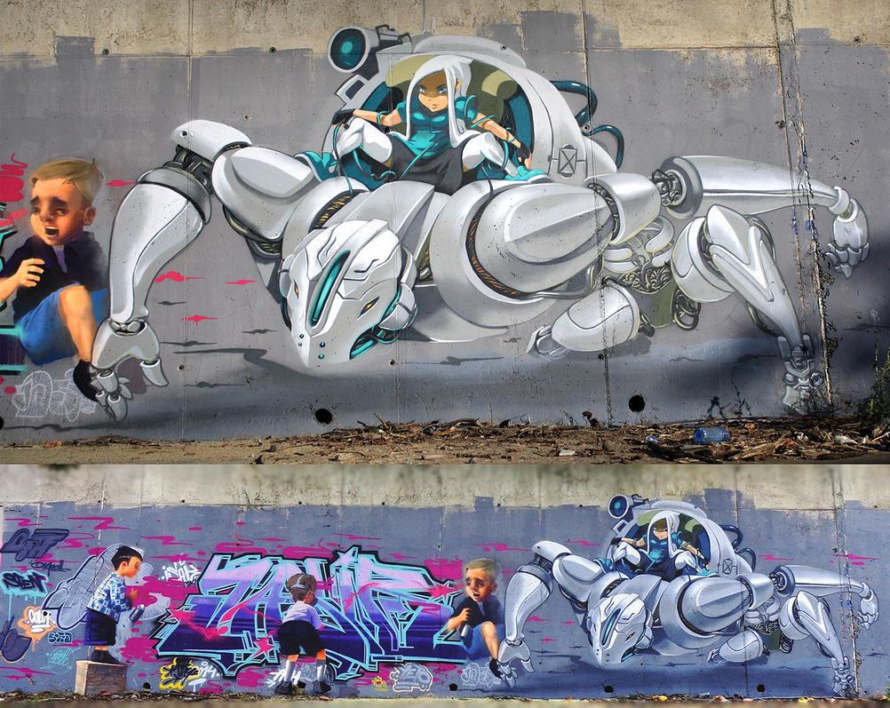 Robo stuff by stenDUC