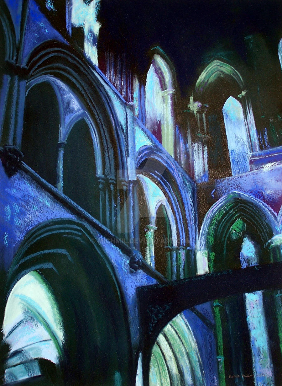 Abbey Echoes by michmil